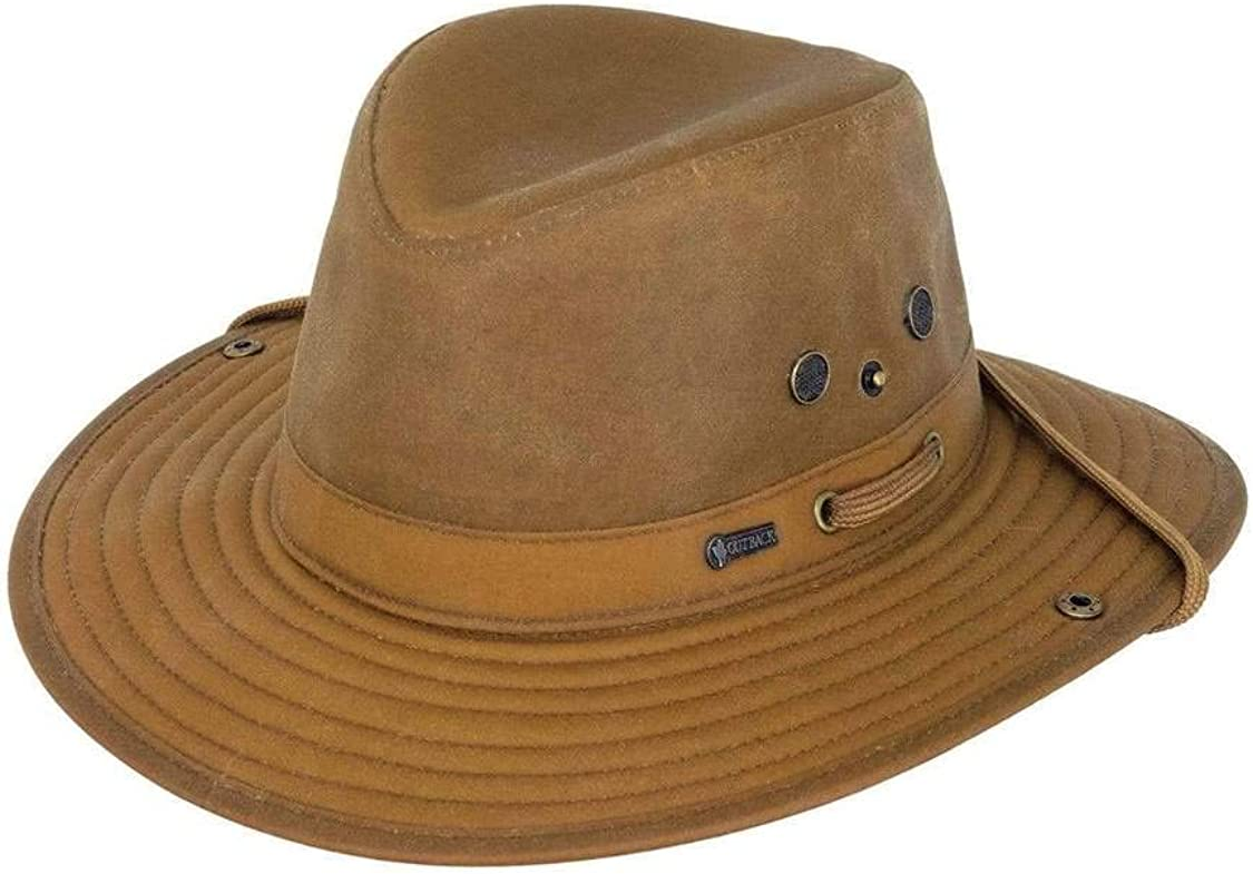 Outback Trading Mens 1497 River Guide UPF 50 Waterproof Breathable Outdoor  Cotton Oilskin Hat : Amazon.ca: Sports & Outdoors