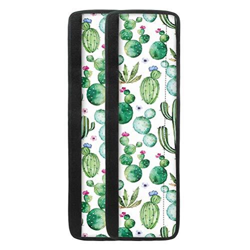 chaqlin Fundas antideslizantes para manillas de puerta de frigorífico, diseño de cactus verde, para horno, lavavajillas, juego de 2 unidades, ajuste universal