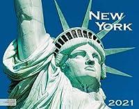 New York 2021: Grossformat-Kalender 58 x 45,5 cm