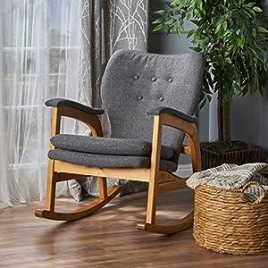 Fabric Rocking Chair-Rocking Chair-Rocking Chair for Nursery-Baby Rocker-Glider Rocker with Ottoman-Glider Rocker-Rocker Recliner-Nursery Rocking Chair-Rocking Chairs-Baby Rocking Chair