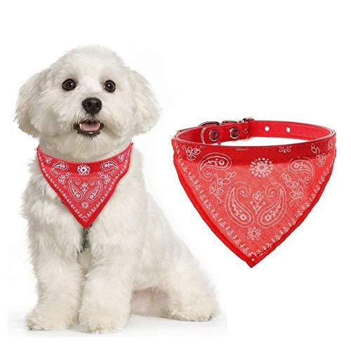 PSK Pet Mart Adjustable Scarf Cum Bandana Cum Neckerchief Neck Tie Collar for Dog,Cat,Puppy&Kitten (Multi Color)