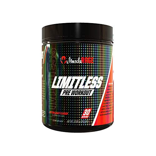 Muscle Rage Limitless Pre Workout Supplement