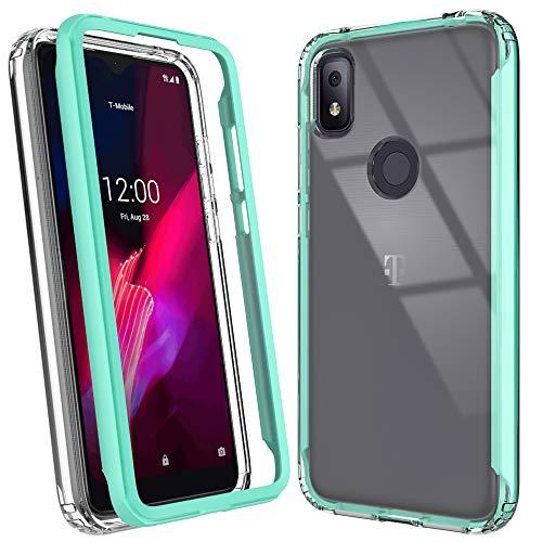 PUXICU TCL Revvl 4 Case, T-Mobile Revvl 4 Case, Beautiful Colour TPU Shockproof Protection Scratch-Resisitant Shell Cover T-Mobile Revvl 4-Green