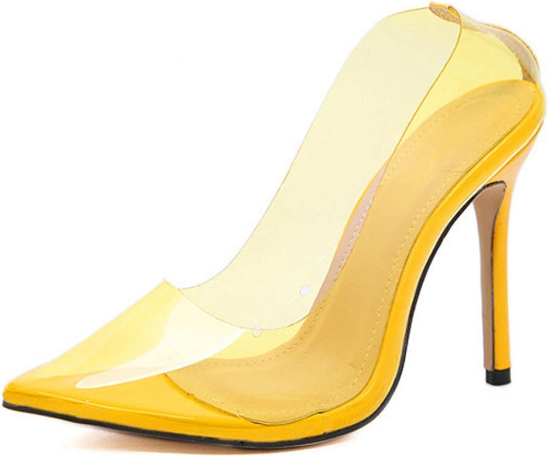 KOKQSX-Damenschuhe sexy sexy sexy transparent einzelne Schuhe hochhackige Damenschuhe  58472e