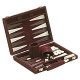 """Best  - 18"""" Recreational Velvet Backgammon Board Game Case, Burgundy Review"""