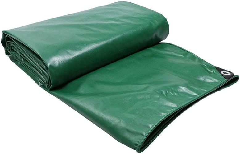 Baches ZXMEI, Abri De Survie en Nylon Robuste 100% Imperméable - Vert (Taille   4x10m)