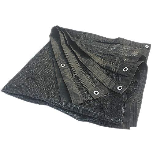 90% zonneblok schaduw doek met grommets voor plantendek kas schuur Pergola of zwembad Poly Tarp Black-33x66ft/10x20m