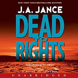 Dead to Rights audiobook cover art