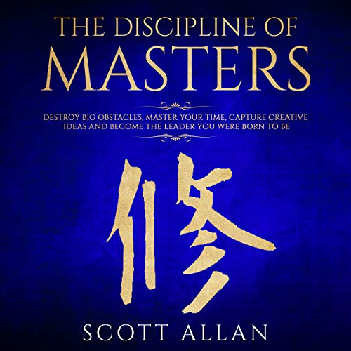 The Discipline of Masters audiobook cover art