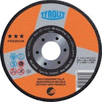 TYROLIT Trennscheibe Premium*** ALU | 230x2,5 mm | gerade | Form 41 | 1 Stück