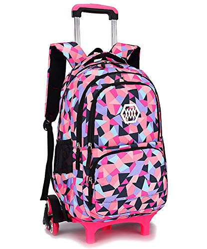 Kids Backpack Trolley Bag - Girls Boys School Bag Children's...