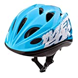 meteor Casco Bicicleta Bebe Helmet Bici Ciclismo para Niño - Cascos para Infantil - Bici Casco para Patinete Ciclismo Montaña BMX Carretera Skate Patines monopatines HB6-5 (M (52-56 cm), KS07 Blue)