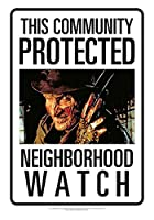 Protected by Freddy Tin Signsブリキ看板並行輸入品