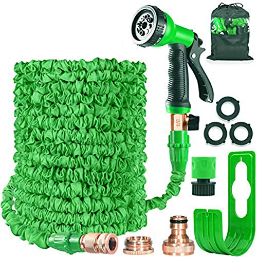 HOMOZE Garden Hose Expandable Hose Pipe 100FT Flexible Magic Hose With...