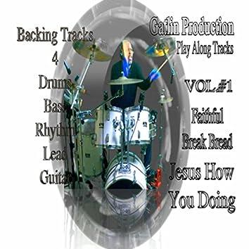 Gatlin Production Play Along Tracks, Vol. 1
