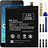for Xiaomi Redmi Note 4,Redmi Note 4 MTK Helio X20,Redmi Note 4X Pro Replacement Battery,for BN41 Battery with Adhesive Tape Tool Repair Kit