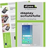 dipos I 6X Schutzfolie matt kompatibel mit Oppo F3 Plus Folie Bildschirmschutzfolie