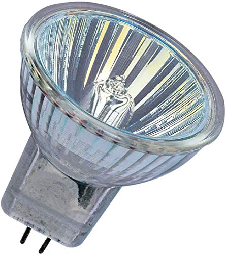 Halogenlampe GU4 12 Volt 10 Watt 36 Grad Wideflood 44888WFL - Osram