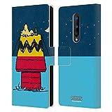 Head Case Designs Licenciado Oficialmente Peanuts Woodstock Alquiler de casa Mitades y Risas Carcasa de Cuero Tipo Libro Compatible con OnePlus 8 5G