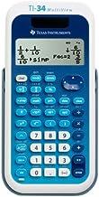 $34 » Texas Instruments (34MV/TBL/1L1) TI-34 MultiView Scientific Calculator (Renewed)