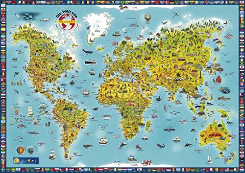 MARCO POLO Panorama Kinderweltkarte plano (MAIRDUMONT Panoramen)