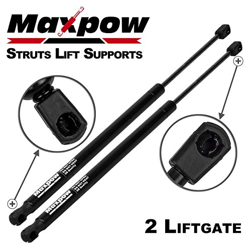 Maxpow Tailgate Struts Lift Support Shocks Struts Compatible With XC90 2003-2014 Liftgate Struts Hatch Lift Supports 6133 SG315018, Pack of 2