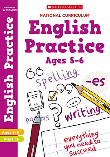 100 English Practice Activities for children ages 5-6 (Year 1). Perfect for Home Learning. (100 Practice Activities)
