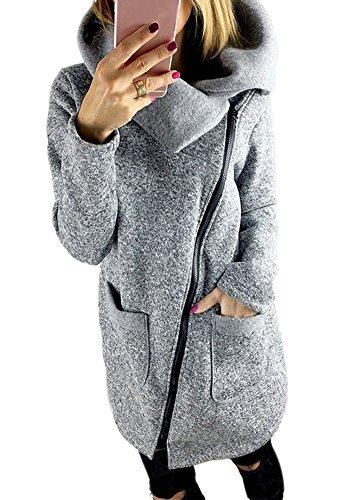 Manteau d'hiver gris