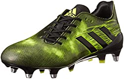 Green & Black Adidas Crazyquick Malice Soft Ground Rugby Boot