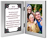 Poetry Gifts Great Grandma Gift from Grandchildren for Her Birthday or Mother's Day - Add Photo