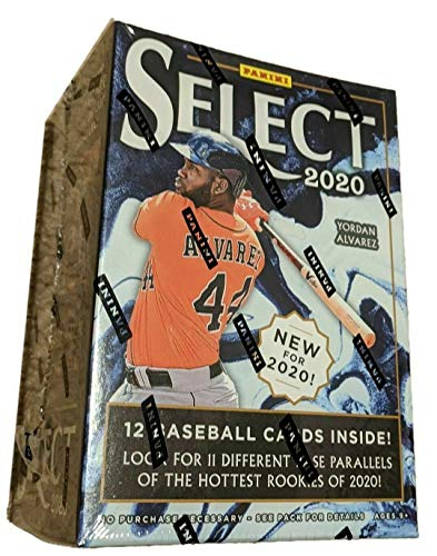 2020 Panini Select Baseball BLASTER box (12 cards)