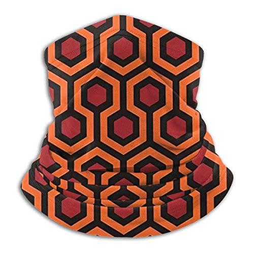ALLdelete# Halsmanschette Halswärmer Sonnenschutz Sturmhaube Stirnband für Schild - Blick auf Hotel Teppich The Shining