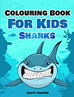 Colouring Book For Kids: Sharks