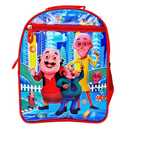 OKJI 14 Inches School Bag for Girls & Boys School Bag Pack Age Group (3-6 Years) Class - Play,Ukg,Nursery Color