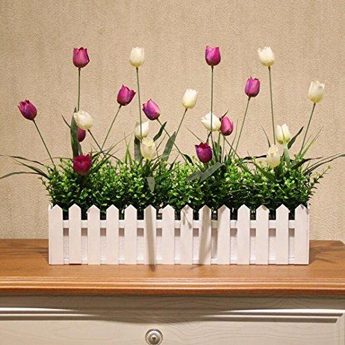 San Tai@Blume Zuhause Hochzeit Garten Dekoration,Lieferinhalt:Enthält eine Flasche-30cm