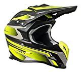 CGM Casco cross integrale 601G TRACK Giallo fluo, M