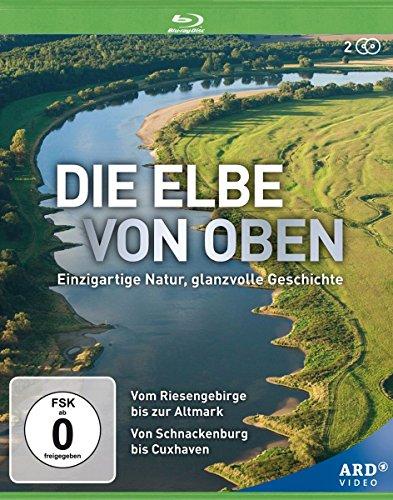Die Elbe von oben - Einzigartige Natur, glanzvolle Geschichte [2 BDs] [Blu-ray]