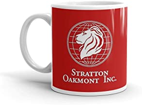 Stratton Oakmont Logo - The Wolf of Wall Street. 11 Oz Classic Coffee Mugs, C-handle And Ceramic Construction. 11 Oz Ceramic Glossy Mugs Gift For Coffee Lover