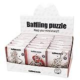 Gracelaza 24 Piezas Juguetes Mágicos de Alambre de Metal Set - 3D Rompecabezas Brain Teaser Puzzle - IQ Inteligencia Juguete Educativo - Juego Niños y Adolescentes