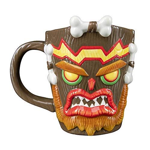 Uka Uka - Taza, diseño de Crash Bandicoot