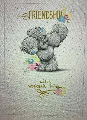 Me to You Tatty Teddy Grußkarte-Freundschaft Bears Umarmung