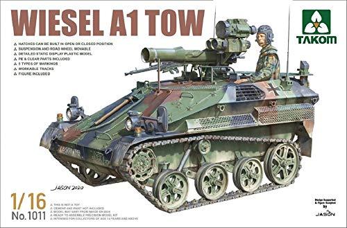 タコム 1/16 ドイツ陸軍 ヴィーゼル A1 TOW プラモデル TKO1011