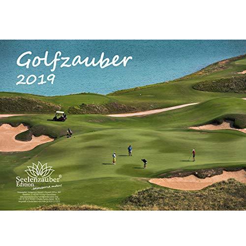 Golfzauber · DIN A3 · Premium Kalender 2019 · Golf · Sport · Abschlag · Handicap · Platzreife · Greenfee · Golfclub · Clubhaus · Edition Seelenzauber