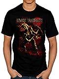 Official Iron Maiden Benjamin Breeg Red T-Shirt