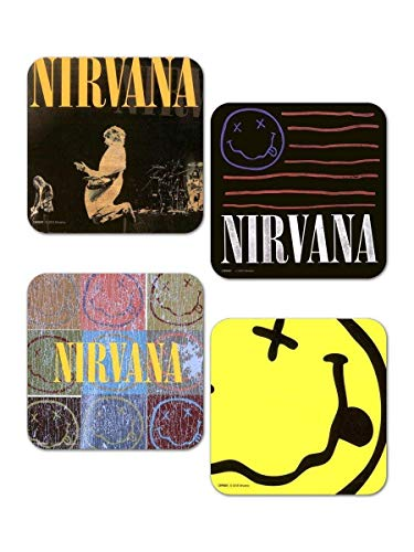 GB Eye LTD, Nirvana, Mix, Set de Dessous de Verre