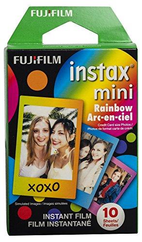 Fujifilm Instax Mini Rainbow Film - 10 Exposures
