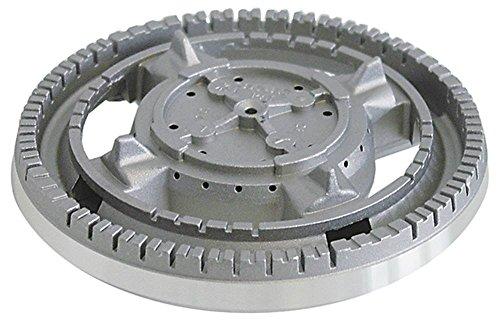 Brennerkopf für MBM-Italien G6SFE6, G6SFEA6, G4SF6, G4SFE6, G6SF6, Modular 60/60CFG, 60/60CFGE, 60/60PCG, 60/30PCG für Gasherd
