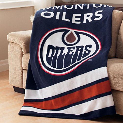 Sunbeam Edmonton Oilers NHL Heated Throw Blanket