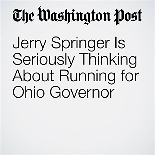 Jerry Springer Is Seriously Thinking About Running for Ohio Governor copertina