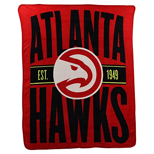 The Northwest Company NBA Clear Out Super Soft Plush Throw Blanket (Atlanta Hawks)